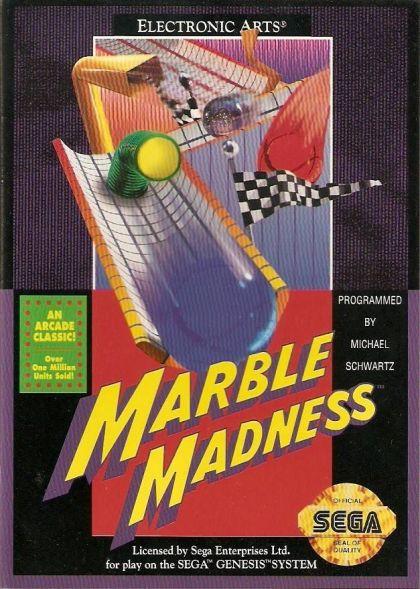 Marble Madness (Genesis / Mega Drive)