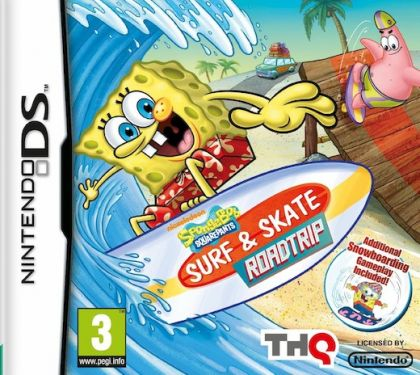 SpongeBob Surf & Skate Roadtrip (Nintendo DS)