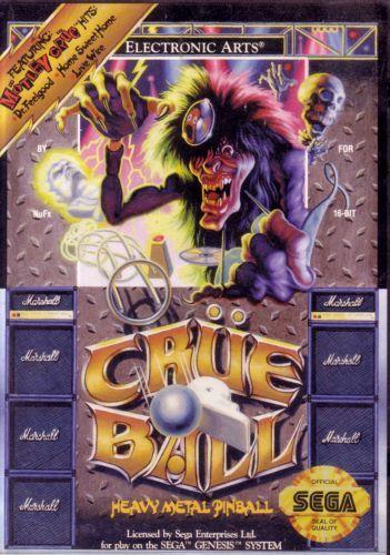 Crue Ball (Genesis / Mega Drive)