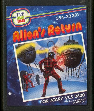 Aliens Return (Atari 2600/VCS)