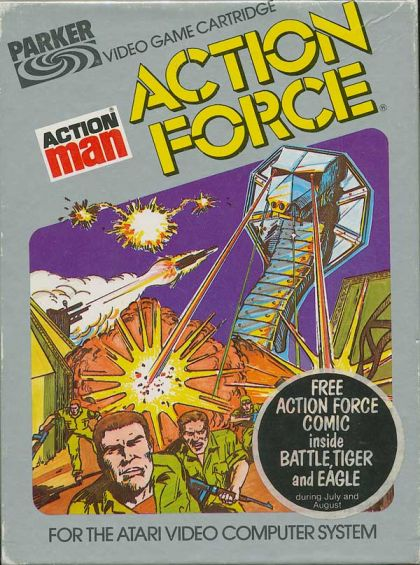 Action Force (Atari 2600/VCS)