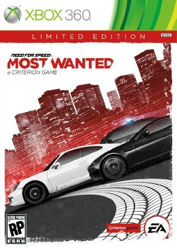 need for speed most wanted xbox 360 on core games. Black Bedroom Furniture Sets. Home Design Ideas
