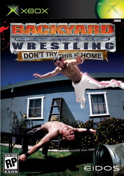 backyard wrestling don 39 t try this at home xbox on