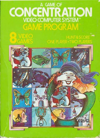 A Game Of Concentration (Atari 2600/VCS)
