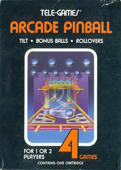 Arcade Pinball (Atari 2600/VCS)