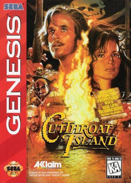 Cutthroat Island (Genesis / Mega Drive)