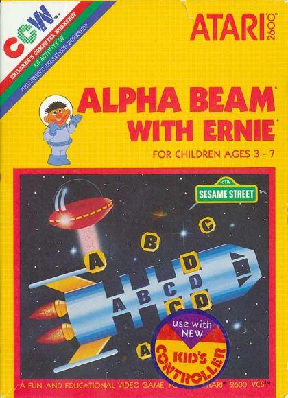 Alpha Beam with Ernie (Atari 2600/VCS)