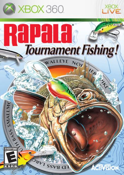 rapala tournament fishing xbox 360 on