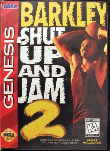 Barkley Shut Up and Jam 2 (Genesis / Mega Drive)