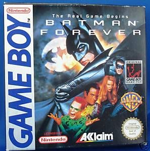 Game Collector Connect » Game Database » Game Boy » Batman Forever
