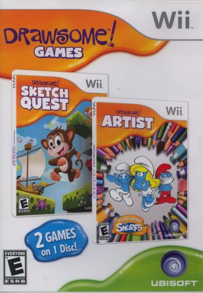 Scribble Drawing Quest : Drawsome games sketch quest artist wii on collectorz