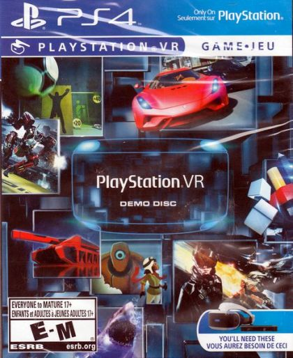PlayStation VR Demo Disc (PlayStation 4) in SeeJayAre's game